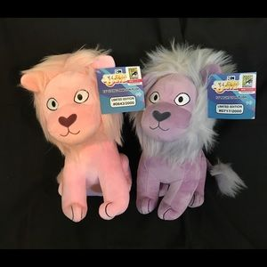Steven Universe Lions from SDCC 2018 NWT